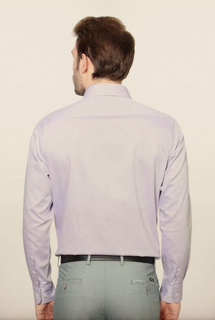 Peter England Lilac Formal Shirt