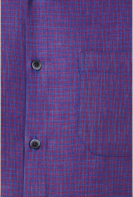 Peter England Purple Formal Shirt