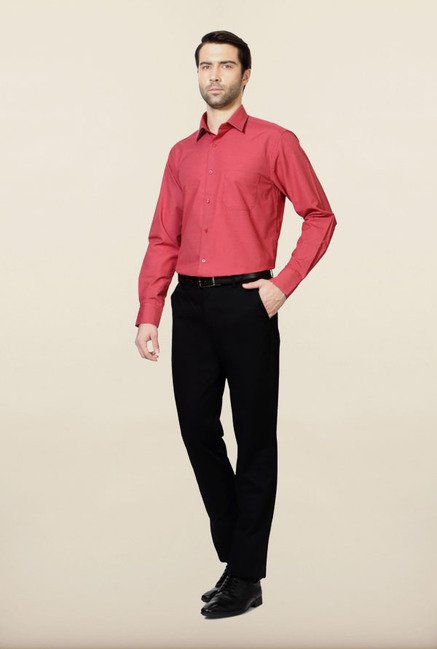 Peter England Pink Formal Shirt