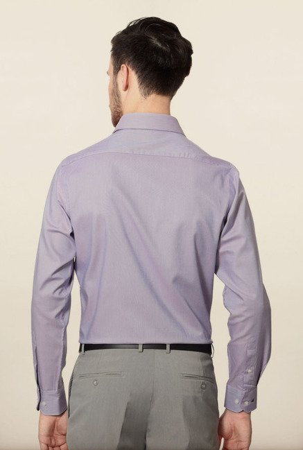 Van Heusen Purple Formal Shirt
