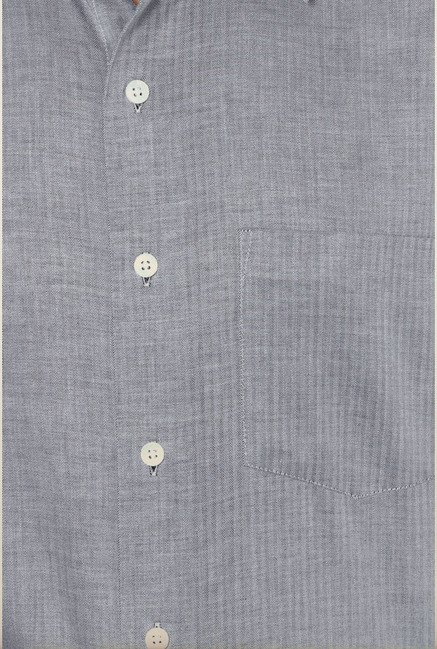 Allen Solly Grey Formal Shirt