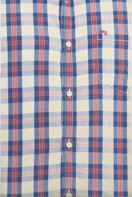 Peter England Multicolor Formal Shirt