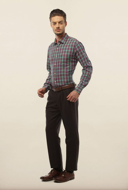 Allen Solly Multicolor Checks Formal Shirt