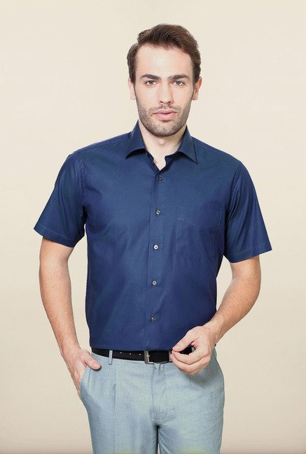 Van Heusen Dark Blue Formal Shirt