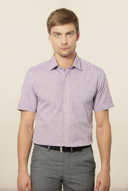 University of Oxford Purple Formal Shirt