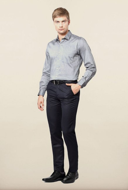 University of Oxford Grey Formal Shirt