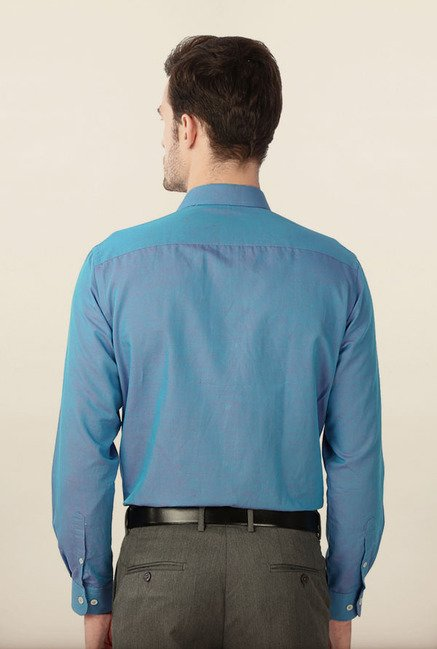 Peter England Light Blue Formal Shirt