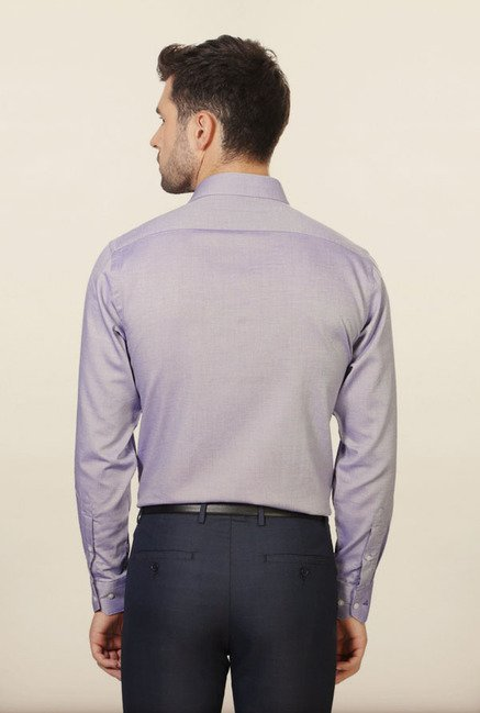 Van Heusen Lilac Formal Shirt