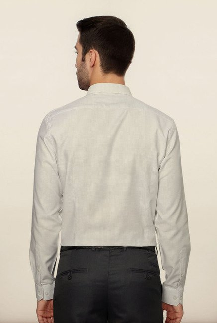 Van Heusen White Formal Shirt
