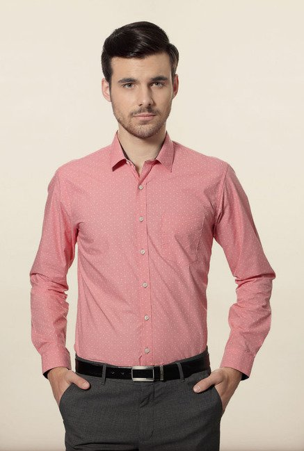Van Heusen Pink Formal Shirt