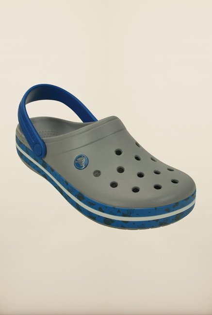Crocs Crocband Fruit Light Grey Clogs