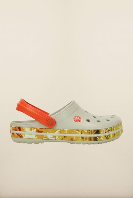 Crocs Crocband Tropical II Grey Clogs