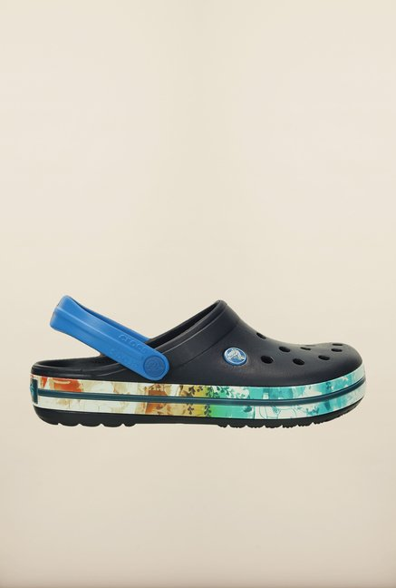 Crocs Crocband Tropical II Navy Clogs