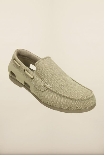Crocs Beach Line Cobblestone Loafers