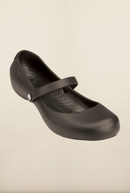 Crocs Alice Work Espresso Mary Jane Shoes