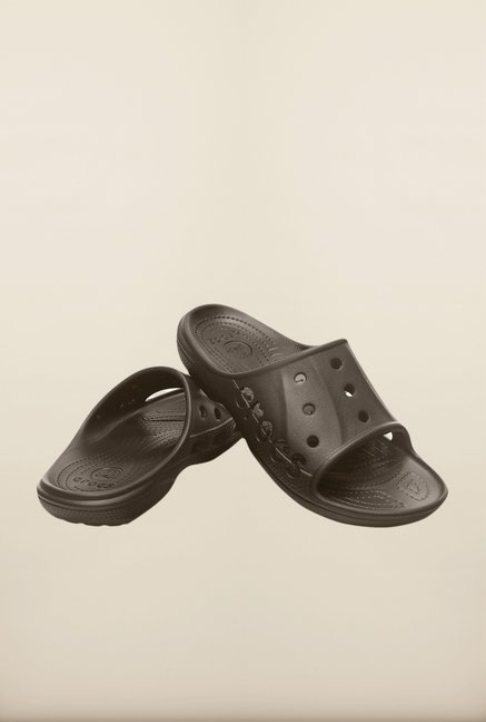 Crocs Baya Slide Espresso Slippers