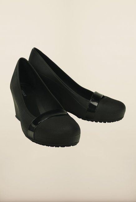 Crocs Brynn Black Pumps
