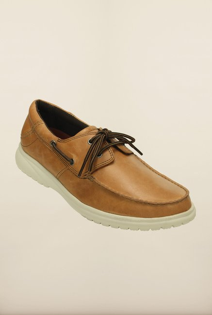 Crocs Shaw Hazelnut & Stucco Boat Shoes