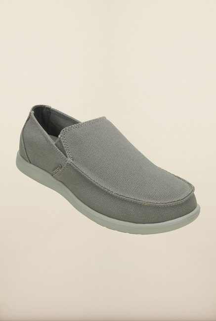 Crocs Santa Cruz Smoke Grey Loafers