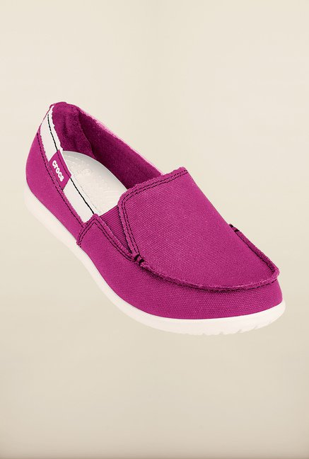 Crocs Melbourne Berry & Oyster Loafers