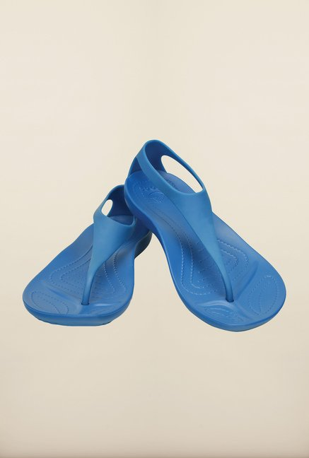 Crocs Sexi Ultramarine Blue Slippers