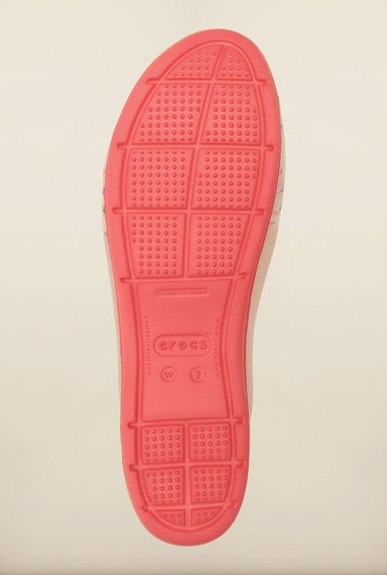 Crocs ColorBlock Coral Sling Back Shoes