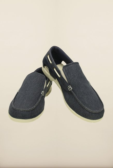 Crocs Beach Line Navy & Stucco Loafers