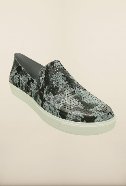 Crocs CitiLane Roka Graphite & White Loafers