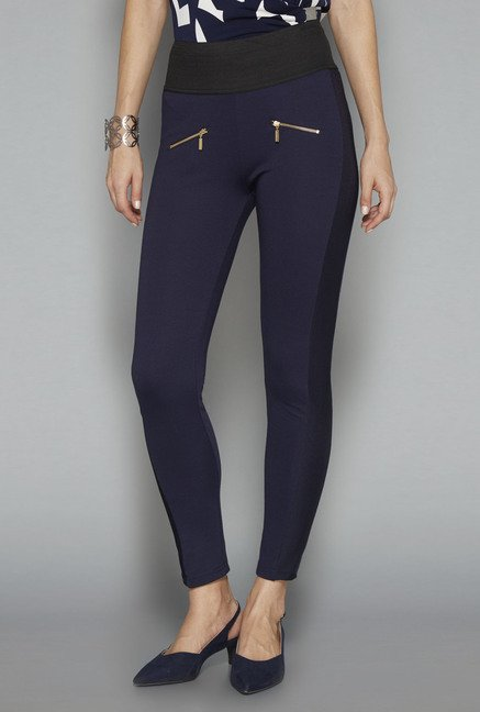 Wardrobe Navy Milo Trouser