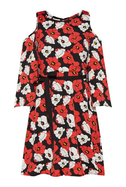 Nuon Black & Red Stella Dress