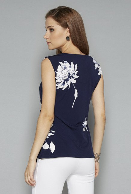 Wardrobe Navy Ambler Blouse