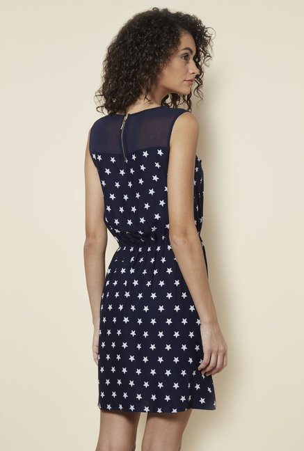 Zudio Navy Jery Dress