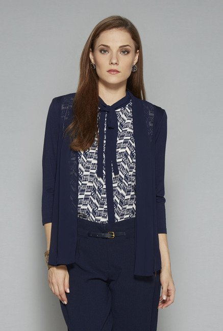 Wardrobe Navy Ria Shrug