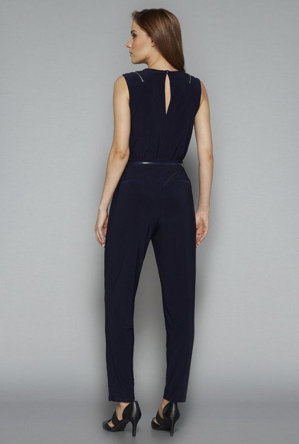 Wardrobe Navy Bersh Jumpsuit