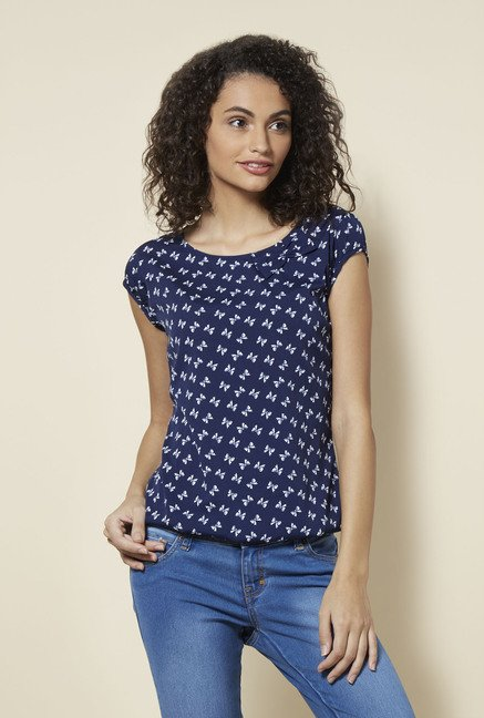 Zudio Navy Natty Blouse