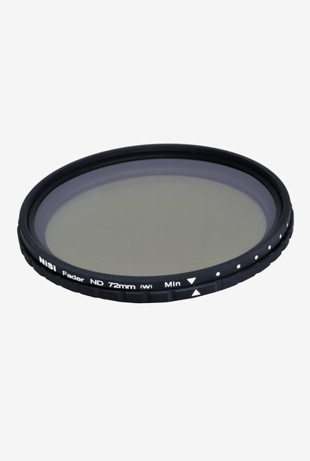 Nisi ND 2-400 72mm Fader Filter Black