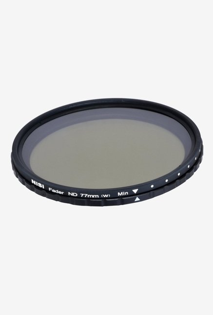 Nisi ND 2-400 77mm Fader Filter Black