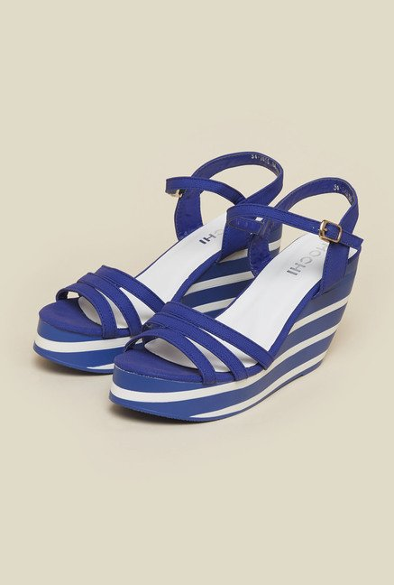 Mochi Blue Back Strap Wedges