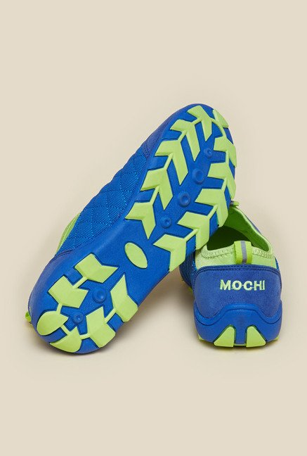Mochi Blue Casual Shoes