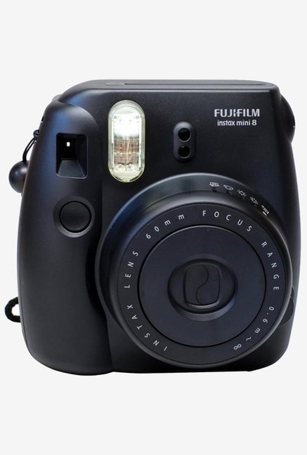Fujifilm INSTAX MINI 8 Instant Camera Black