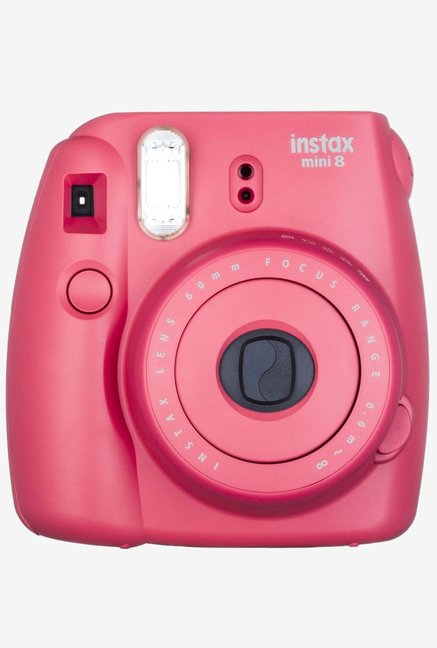 Fujifilm INSTAX MINI 8 Instant Camera Raspberry