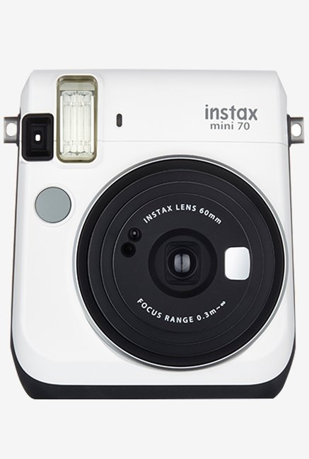 Fujifilm INSTAX MINI 70 Instant Camera White