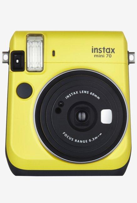 Fujifilm INSTAX MINI 70 Instant Camera Yellow