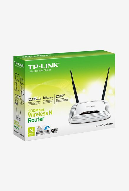 TP-LINK TL-WR841N Wi-Fi Router White