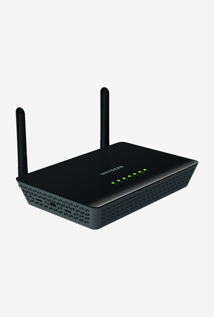 NetGear D3600 Dual Band Wi-Fi Router Black