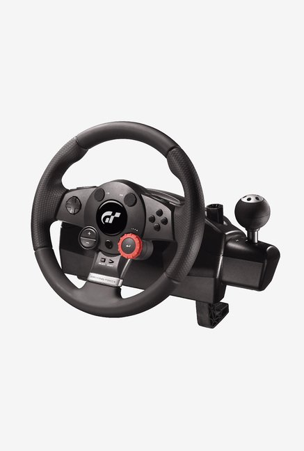 Logitech Driving Force GT Racing Wheel Black