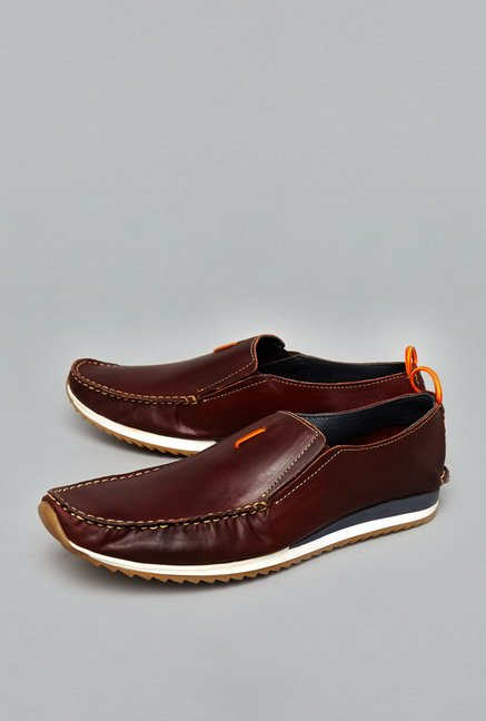 David Jones Brown Leather Shoes