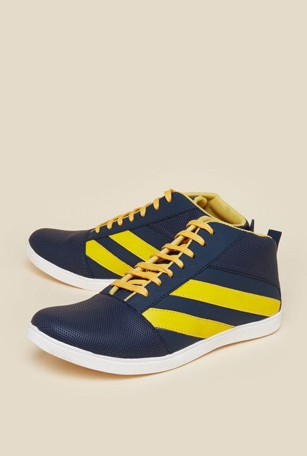 Zudio Navy Lace Up Sneakers