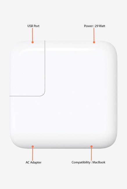 Apple 29W USB-C Power Adapter (White)
