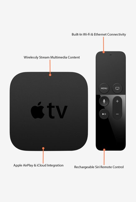 Apple MLNC2HN/A TV 64 GB(Black)